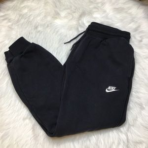 Nike Black Jogger Sweatpants Large